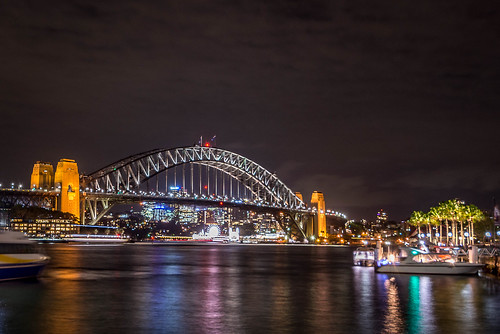 The Sydney Harbour Bridge by Night