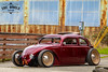 Oval Volksrod (Eric Arnold Photography) Tags: vw volkswagen oval window bug beetle type 1 1954 54 ragtop safari volks volksrod hot rod custom low rider lowered camber air rustic rusty building tacoma washington w decklid feature magazine canon 80d car auto automotive automobile