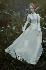 white spring (dolls of milena) Tags: bjd abjd resin doll popovy sisters bony portrait outdoor