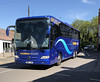 Shearings . 922 BN17JUK . Dane Street , Bishop's Stortford , Hertfordshire . Saturday 05th-May-2018 . (AndrewHA's) Tags: bishopsstortford hertfordshire coach bus mercedes benz tourismo shearings 922 bn17juk tour holiday excursion