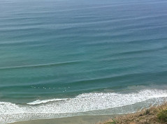 Flying in formation (ashokboghani) Tags: sandiego beach pacific california birds waves