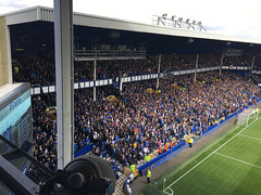 The Gwladys Street End at Goodison Park from The Top Balcony (kevertonphoto) Tags: evertonfc walton everton goodisonpark football matchday premierleague premierleaguegrounds