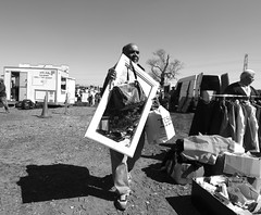 Mirror Man (joe_barton17) Tags: canon canon70d 1116mm tokina1116mm tokina british blackandwhite b monochrome people humans humanistic photojournalism journalism documentary realism streetphotography street carboot car boot britishculture culture ethnicity composition