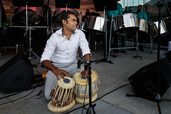 drum player (abtabt) Tags: trinidadandtobago tt portofspain pos napa steeldrum drum performance music man band evening d7001835g steelpan caribbean