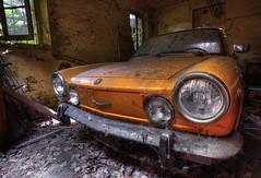 """ FORGOTTEN FIAT "" (Wiffsmiff23) Tags: urbex decay derelict fiat car italy abandoned forgotten"