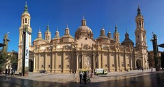 Panorámica Basílica del Pilar, Zaragoza (joseange) Tags: basílicadelpilar plazadelpilar zaragoza aragón españa
