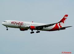 AIR CANADA ROUGE B767 C-FMLZ (Adrian.Kissane) Tags: aircanada b767 shannon cfmlz 27597