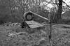 Morning walk (simonclaeye) Tags: blackandwhite dark bw nature tree trees nikon nikond nikond7000 morning belgium ardennen empty house