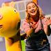 Peppa Pig's Adventure - Gerald Giraffe and Daisy (Bronte Tadman) (c) Dan Tsantilis