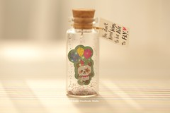 You don't need wings to be able to fly,Tiny message in a bottle,Miniatures,Personalised Gift,Valentine Card,Gift for her/him,Girlfriend gift, birthday card, holiday card and miniatures card ideas (charles fukuyama) Tags: panda cuteanimals balloon partygift greetingcard lovecard messagecard glitter deskdecor decoration tiny bottle handmadecard paper art kikuike custommade