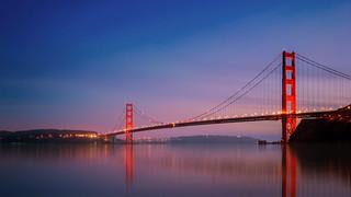 Golden Gate, Reddish Hues - Explored