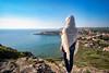 Infinity (Fabrizio Contu) Tags: seascape landscape panorama view sardegna sardinia santacaterinadipittinuri sea mediterranean blue bay cuglieri sky fujifilm xt10
