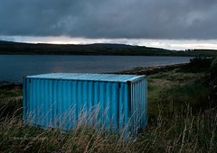 Fish out of Waternish (Scotty H..) Tags: instagram scottyh skye scotland landscape scottishlandscape shippingcontainer