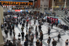 London Liverpool St Station - Slow Shutter Speed Practice (chris.lysyj) Tags: london liverpool street liverpoolstreet liverpoolstreetstation train trainstation tourist tourism photography training practice