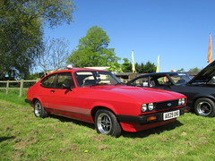 Ford Capri 2.0 S A829UHU (Andrew 2.8i) Tags: evesham show meet club international cci sports sportscar classic classics car cars capri ford mark 3 mk mk3 hot hatch hatchback 2000s 2000 s 20