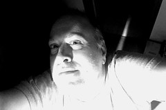 Day 2303: Day 113: B&W (knoopie) Tags: 2018 april iphone picturemail 1920 bw doug knoop knoopie me selfportrait 365days 365daysyear7 year7 365more day2303 day113