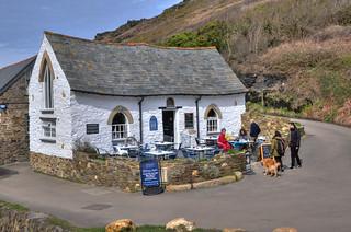 Cafe & tea-room, Boscastle, Cornwall