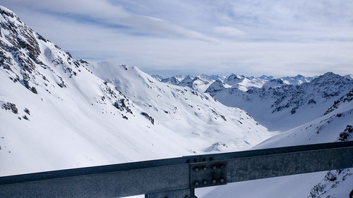 Snowboarding in Arosa