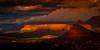 Sunshine on Rainy Day (William Horton Photography) Tags: arizona nikon schneblyhillformation sedona butte clouds color dramatic fog horizontal landscape morning nature orange outdoor panorama red redrock rockformations sandstone scenic sunrise twilight warm