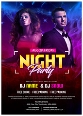 Event flyer (rubelmiah014) Tags: event club party dj houseparty summerparty disco flyer flyerdesign