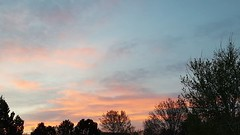 April 30, 2018 - Pastel sunrise. (David Canfield)