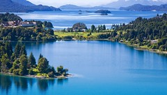 argentina (zaguilanbrisa13) Tags: latinamerica nobody cloudscape bariloche grass blue turquoise nature outdoors horizontal patagonia argentina southamerica mountainrange mountain forest pampas landscape cloud sky wind lake water sportsandfitness landscapes
