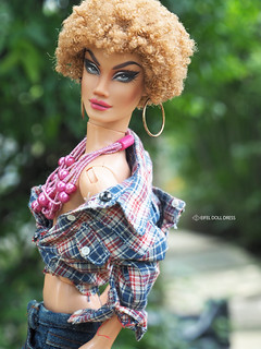 for sell : Repaint Barbie My Scene doll BRYANT