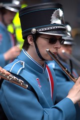 Flute (Scott 97006) Tags: marching bande flautist flute player uniform highschool