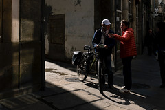 Getting directions (davidsymonds) Tags: santiagodecompostela galicia spain es