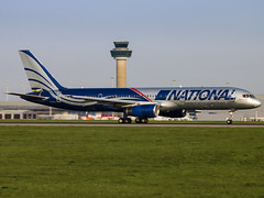 National Airlines | Boeing 757-28A | N176CA (Bradley's Aviation Photography) Tags: b757 b752 757 boeing757 n176ca national nationalairlines boeing75728a stn stansted londonstansted londonstanstedairport stanstedairport canon70d