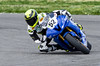leaning to a conclusion (.sanden.) Tags: mra mraracing 52 blue motorcycle turn action white yellow road racing colorado co unitedstates us canon7dmarkii pikespeakinternationalraceway