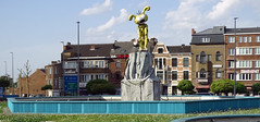 Charleroi escultura comic Belgica  02 (Rafael Gomez - http://micamara.es) Tags: charleroi esculturas comic belgica valonia bélgica temas infantiles