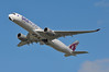 'QR9KP' (QR0008) LHR-DOH (A380spotter) Tags: takeoff departure climb climbout belly gearinmotion gim retraction airbus a350 a350xwb™ xtrawidebody extra 900 a7alz oneworld oneworldalliance memberofoneworld logojet livery scheme colours qatar القطرية qatarairways qtr qr qr9kp qr0008 lhrdoh runway27l 27l london heathrow egll lhr
