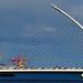 The Samuel Beckett Bridge Dublin Ireland May 2018