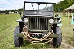 BA Vintage Country Fair - Aberdeen Scotland - 2018 (DanoAberdeen) Tags: militaryjeep frenchjeep french yvette danoaberdeen 2018 candid bavintagecountryfair amateur aberdeen aberdeenscotland abdn farming scottishfarming gala festival fair public countryside tractor farm scotland dunecht show tractors haulage transport farmmachinery diesel engine bluesky event charity northeast classic vintage outdoors agriculture freshair autumn summer winter spring truck truckfest farmwork gathering recent museum rare hgv lgv v6 v8 v12 loved collection pulling bacountrystores farmer customised blue sky clouds baevents bastores