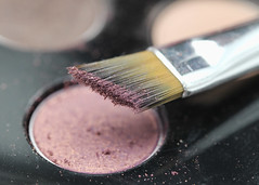 Lipstick, Powder and Paint (Helen Orozco) Tags: macromondays readyfortheday makeup brush hmm eyeshadow powder compressedpowder palette