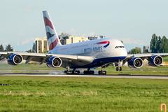 CYVR - British Airways A380-800 G-XLEC (CKwok Photography) Tags: yvr cyvr britishairways a380 gxlec
