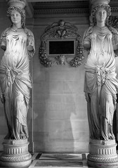 Caryatids at the Louvre (TheViewDeck) Tags: sculpture art france louvre museum history ancient statue
