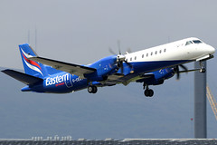 G-CERY_04 (GH@BHD) Tags: gcery saab saab2000 t3 eze easternairways bhd egac belfastcityairport aircraft aviation airliner turboprop