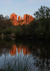 DSC00071.jpg (jbaker6886) Tags: spring bestofthewest landscape sunset river cathedralrock reflection arizona desert sedona