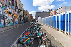 DUBLIN BIKES DOCKING STATION 46 [GREAT STRAND STREET]-138521 (infomatique) Tags: dublinbikes dockingstation 46 station46 greatstrandstreet dublin publictransport bikehire bicycle williammurphy infomatique fotonique excellentstreetimagescom april 2018 bikesharing