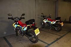 YJ67 EBA & YJ67 EBC (Ben Hopson) Tags: west yorkshire police wyp honda motorbike motorcycle offroad dirt bikes bike 67 2017 new yj67 eba ebc yj67eba yj67ebc