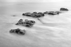 APR 16 18 - WALCOTT-8068 (mrstaff) Tags: april162018 cloudy sunnyintervals tide walcott beach eastofengland norfolk coast shore waves rocks seascape longexposure martinstafford
