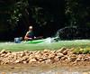 Kayaker on Buffalo River - Steel Creek Campground, Northwest Arkansas (danjdavis) Tags: kayaker kayak kayaking buffaloriver buffalonationalriver arkansas