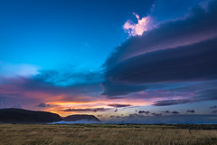 Windy (Daniel.Peter) Tags: iceland island clouds dpe3x sea sunset wind