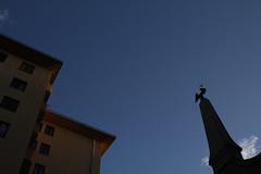 abends in der Au (raumoberbayern) Tags: auerdult dult au munich münchen chairoplane robbbilder lilien gold vogel bird lilies abend evening sunset dusk