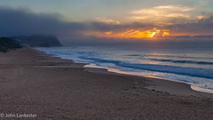 Clouded sunrise at Merewether beach (Jhopne) Tags: merewether beach sunrise apr18 cloud australia canonef2470mmf28lusm landscape newcastle canoneos5dmarkii dawn nsw sky sea