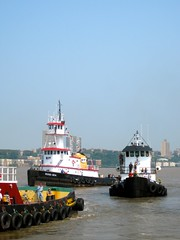 Tugboat Races (jennifer.dubernas) Tags: tugboat races nyc newyork 2011