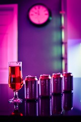 Beer time (joeoliver3) Tags: glass cans purple drink brewdog