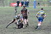 A double tackle (Steve Barowik) Tags: yorkshire westyorkshire nikond500 barowik leeds ls26 stevebarowik sbofls26 rugbyleague rl nationalleague 70200mmf28gvrii sport competition try conversion penalty sinbin referee linesman ball pitch sticks posts team watercarrier dx cropframe kick pass offload dropkick forwardpass centre wing prop forward back fullback unlimitedphotos wonderfulworld quantumentanglement oultonraiders shawcrosssharks challengecupsecondround